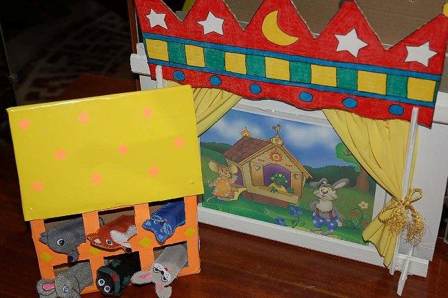 Театр сказка для детей своими руками